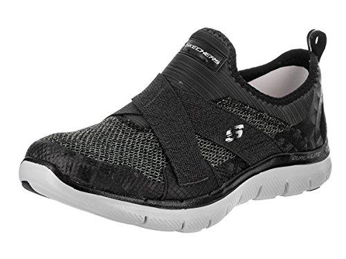 Zapatillas para Appeal 0 Flex 2 Mujer Image Skechers blanco New negro 41qfx6T