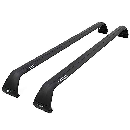 Obelisks Roof Rack for 07-19 Wrangler JK JL Luggage Baggage Cross Bar