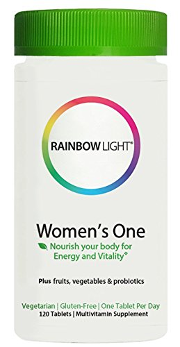 (Rainbow Light Vitamins Women's One Food-based Multivitamin 120 Tablets)