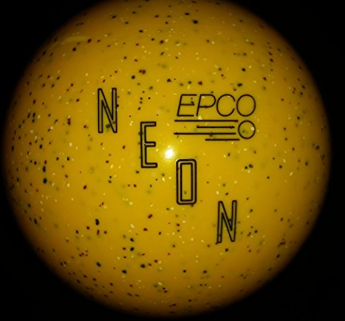 EPCO-Neon-Duckpin-Bowling-Ball-Neon-Yellow-Single-Ball
