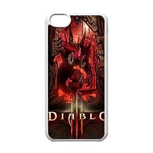 Rainy Day Diablo Diablo iPhone 5c Cell Phone Case White GY0503C5