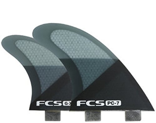 FCS Surf PC7 Quad Fin Set, Smoke Large for sale  Delivered anywhere in USA
