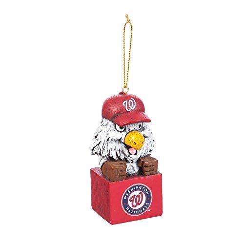 Team Sports America Mascot Ornament, Washington Nationals