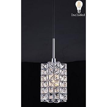 Smart Lighting Shupregu 1 Light Pendant Lighting, Crystal Mini Pendant  Light Fixtures,