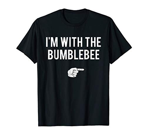 I'm With Bumblebee Halloween Costume Party Matching T-Shirt ()