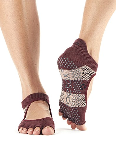Yoga Wonderland Ballet Donna Half amp; Calze Toe Toesox Bellarina non Barre Socks For Pilates Grip slip wCZn1qgvH