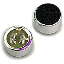 2pcs WM-61A Omnidirectional Back Electret Condenser Microphone Cartridge Capsule.