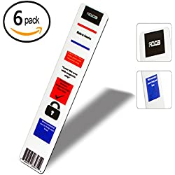 6 Pack - Magnet lock strip for door: Intruder defense system Security for school, School safety, Magnet strip, Emergency magnet-Great for keeping children, College students safe unexpected tragedies