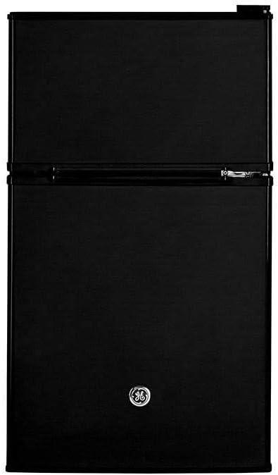 Haier/GE GDE03GGKBB Freestanding Compact Refrigerator, 3.1 Cu Ft, Black
