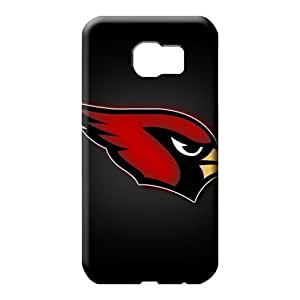 samsung galaxy s6 mobile phone back case Scratch-proof Excellent Fitted pattern arizona cardinals