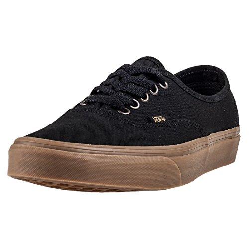 Vans Unisex Unisex Authentic Black Low Top Sneakers in Size 10 men = 11.5 women US (9 UK / 43 EU) Black (Uk Singles Christmas 2017)