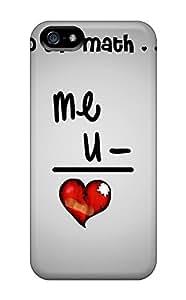 New Style EricaDenise Hard Case Cover For Iphone 5/5s- Broken Heart Formula