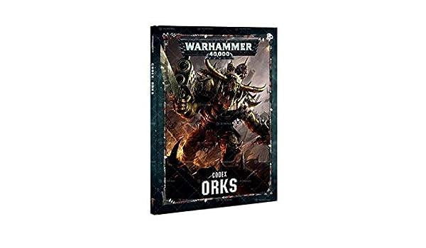 Citadel Games Workshop Warhammer 40K: Codex Orks: Amazon.es ...