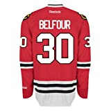 Ed Belfour Chicago Blackhawks Reebok Premier Home Jersey NHL Replica