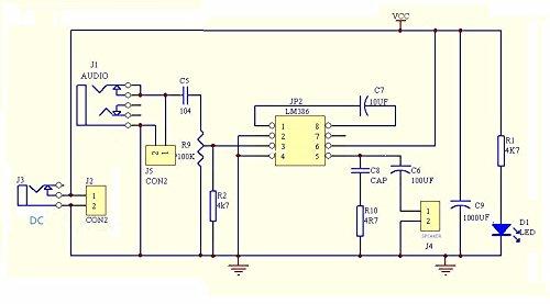 LM386 Super Mini Audio Amplifier Electronic Kit Circuit Board LM386 Amplificador Module Board Power 3.5mm 3-12V DC MONO: Amazon.com: Industrial & Scientific