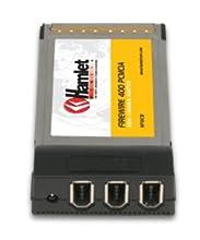 Hamlet HFWCB 3 Port Firewire A PCMCIA Tarjeta y Adaptador de Interfaz - Accesorio (CardBus, 400 Mbit/s, Windows 98SE/2000/ME/XP/Vista, 3 x IEEE 1394a)