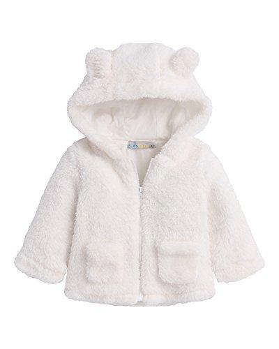 Infant Hooded Fleece Jacket - 4