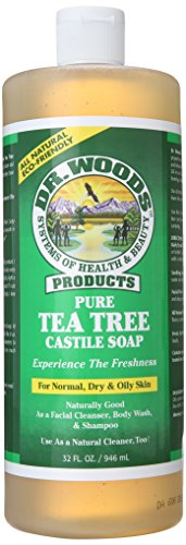 Dr. Woods Pure Castile Soap, Tea Tree, 3