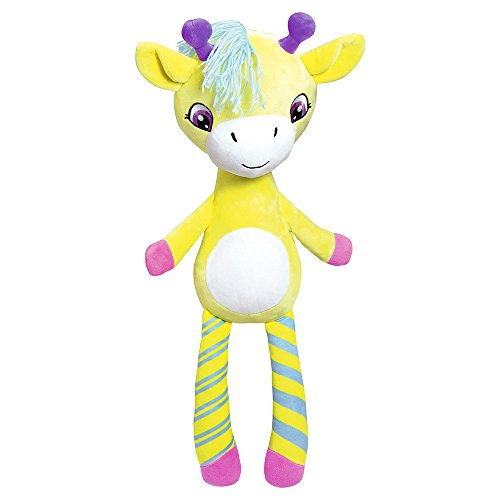 Adora Zippity Hug N Hide Giselle the Giraffe 21.5 Cuddly Soft Snuggle Play Doll Toy Gift with Mini Pocket for Children 3+