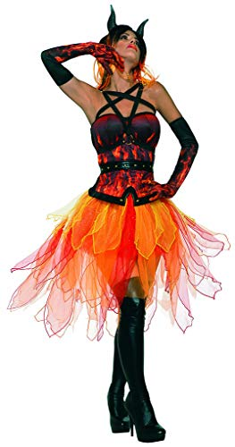 Adult Burlesque Tutu Black and Pink Rave Dance Wear ()