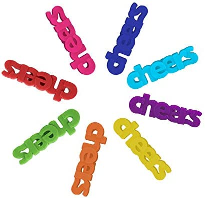 Glass Charms Silicone Cheers Markers product image