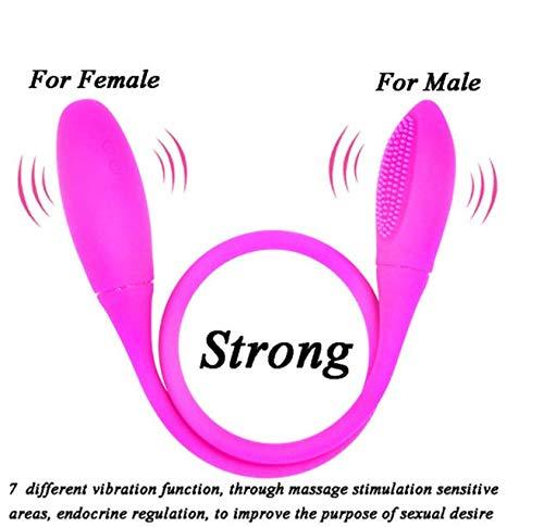 Doble Vibrador G7 Velocidad Vibración Femenina Femenina Vibración Masturbación Consolador Pareja Masturbación Sexo Erótico Juguetes Rosa e83a3d