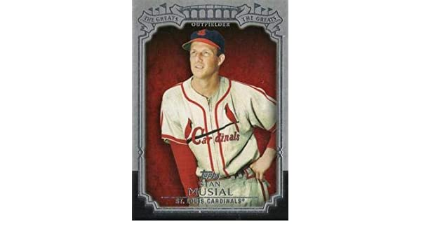 """2013 TOPPS    /""""THE GREATS/""""  #TG-14  STAN MUSIAL"""