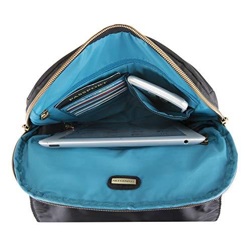 41IYorSyQAL - Travelon Anti-theft Signature Slim Backpack, Black