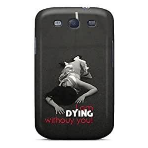 For Galaxy Case, High Quality Im Dying Wdout U For Galaxy S3 Cover Cases by lolosakes