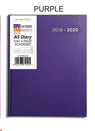 Purple JMS® 2019-2020 - Agenda escolar (tamaño A5, media ...