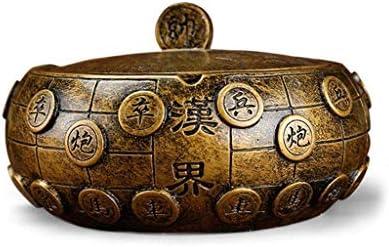 灰皿 , 大きなサイズのカバー産業スタイルのパーソナリティレトロな中国スタイルのヨーロッパのリビングルームのオフィス家とクリエイティブ灰皿