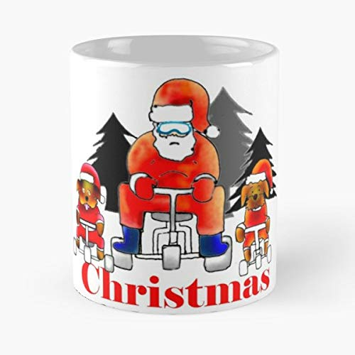- Santa Sco Tea,coffee Mugs Funny Girf For Holiday.