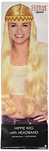 Costume Culture Unisex-Adult's Hippie with Headband, Blonde, One Size