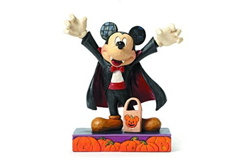 Jim Shore for Enesco Disney Traditions by Vampire Mickey Mouse Figurine, -