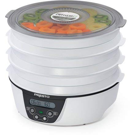 Presto 06301 Dehydro Digital Electric Food Dehydrator (Black) by Presto (Image #5)