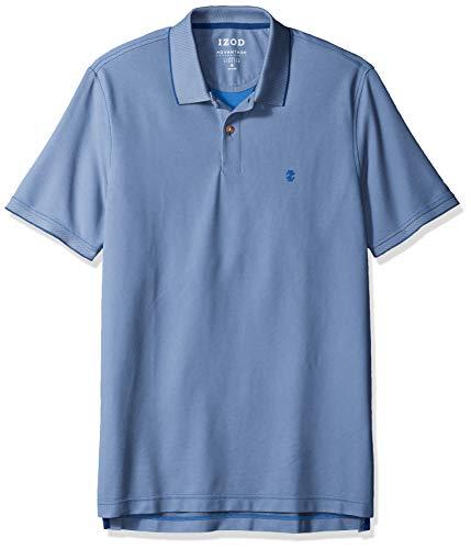Shirt Advantage - IZOD Men's Regular Fit Advantage Performance Solid Polo Shirt, Bright Cobalt 61 Small