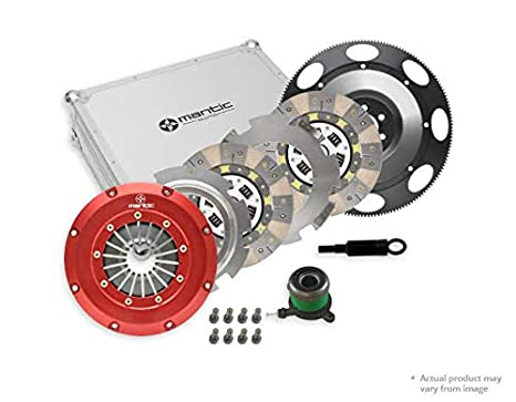 Mantic Track Clutch Kit | Aluminium Cover Assembly | Twin Ceramic Clutch Plates | CSC |