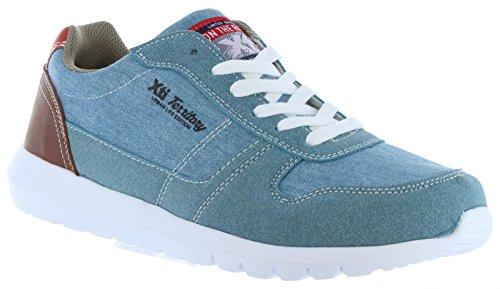 XTI Zapatos de Hombre 46494 Textil C Jeans