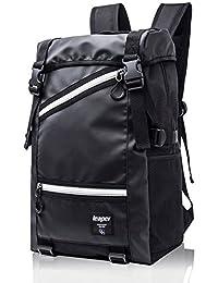 Leaper Multifunctional Outdoor Travel Hiking Backpack Sport Daypack Camping Bag Black