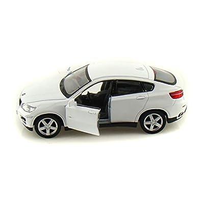 BMW X6 1/38 White: Toys & Games
