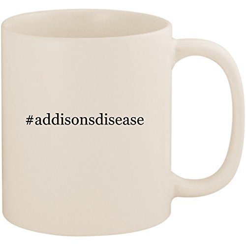 #addisonsdisease - 11oz Ceramic Coffee Mug Cup, White
