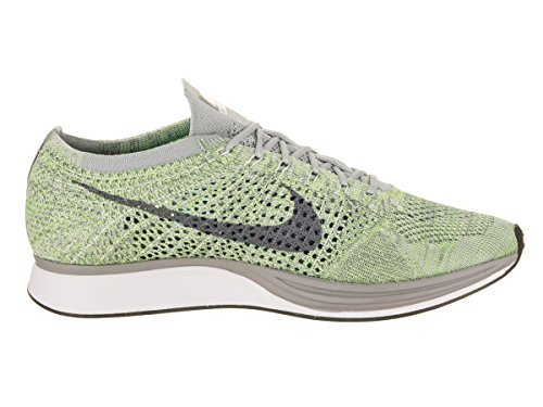 Racer Shoe Ghost Unisex Running Grey Cool Flyknit White Green Nike q4ETUHxww