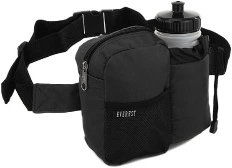 444183c732e7 everest BH-14NB Insulated Water Bottle Waist Hip Fanny Pack Bag + Bottle