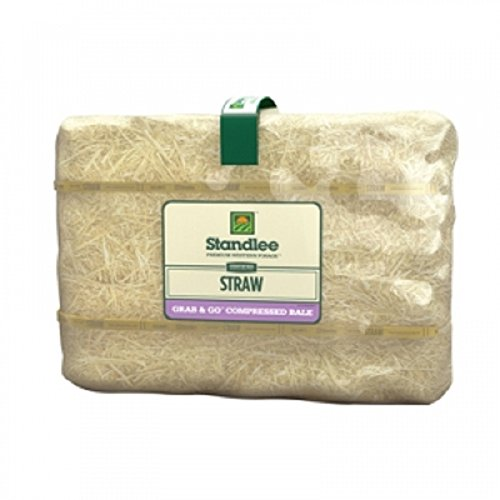hay-straw-compressed-bale-horse-feeding-animal-bedding-composting-w-easy-carry-handle-50-pd