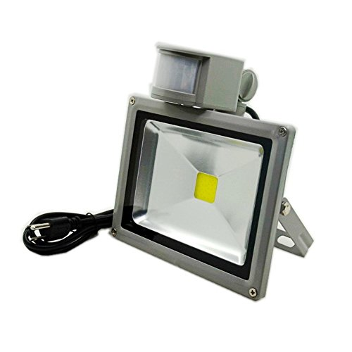 Glw 20w led motion sensor flood light 1500lm pir indoor security glw 20w led motion sensor flood light 1500lm pir indoor security floodlight 3000k warm white basement light 150w halogen bulb equivalent upgraded mozeypictures Gallery