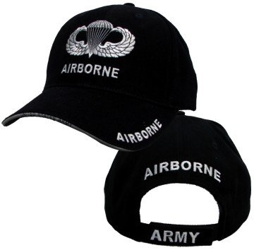 US Army Airborne Jump Wings Ball Cap
