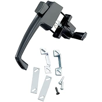 National Hardware V1320 1 3 4 Quot Lever Latch In Black