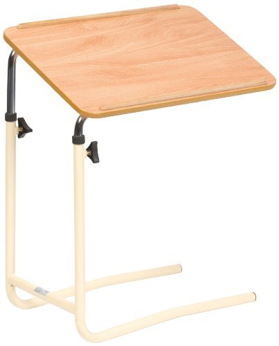 NRS Healthcare F19959 Divan Overbed Table - Tilting & Adjustable by NRS Healthcare
