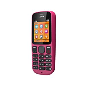 """Nokia 100 - Móvil libre (pantalla de 1,8"""" 128 x 160, S.O. Symbian), rosa"""