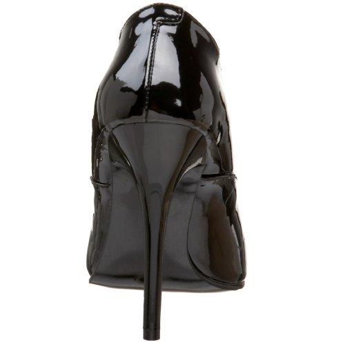 Pleaser - MILAN-01, Scarpe col tacco classiche donna, color Nero (Blk Pat), talla 39
